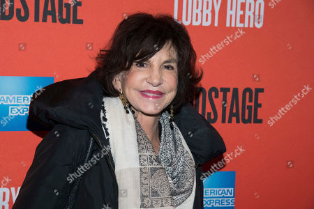 """Stock Picture of Mercedes Ruehl attends the Broadway opening night of """"Lobby Hero"""" at the Hayes Theater, in New York"""