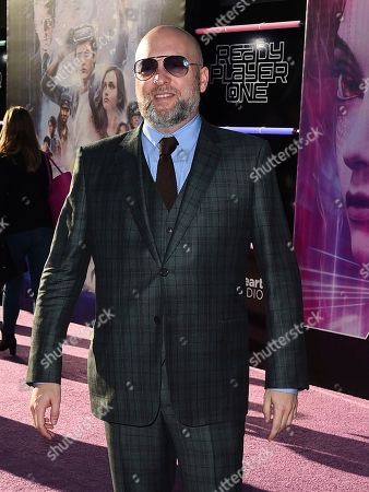 """Zak Penn arrives at the world premiere of """"Ready Player One"""" at the Dolby Theatre, in Los Angeles"""