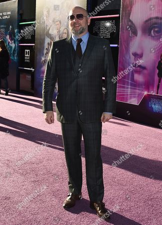 "Zak Penn arrives at the world premiere of ""Ready Player One"" at the Dolby Theatre, in Los Angeles"