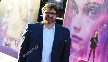 "Writer Ernest Cline arrives at the world premiere of ""Ready Player One"" at the Dolby Theatre, in Los Angeles"