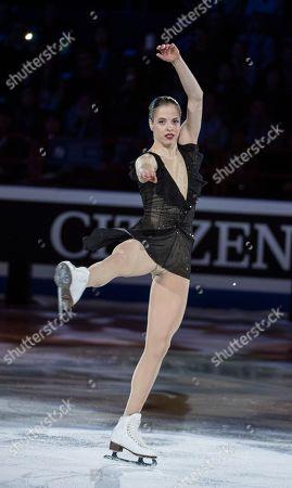 Carolina Kostner (ITA), Gala Exibition during the ISU World Figure Skating Championships at Mediolanum Forum.