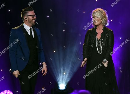 Danny Gokey and Natalie Grant