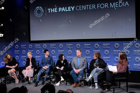 Sarah Chalke, Lecy Goranson, Michael Fishburn, Sara Gilbert, John Goodman, Roseanne Barr and Kristen Baldwin
