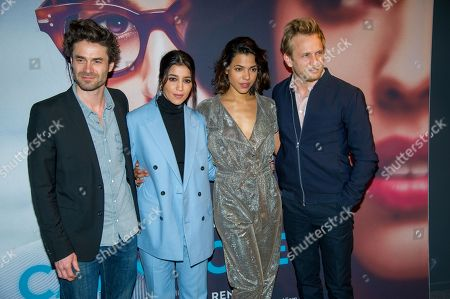Editorial photo of 'Carnivores' film premiere, Paris, France - 26 Mar 2018