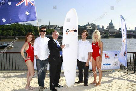Models, Shane Osborn, John Dauth and Brett Graham