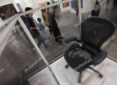Editorial image of Art Basel kicks off in Hong Kong, China - 27 Mar 2018