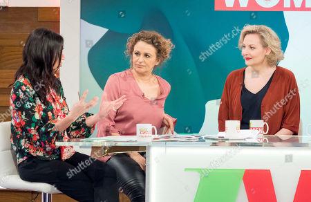 Christine Lampard, Nadia Sawalha, Sara Stewart,