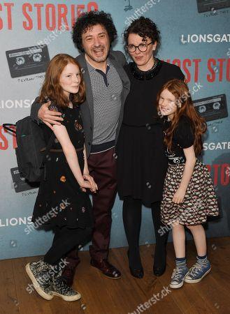 Jeremy Dyson and family