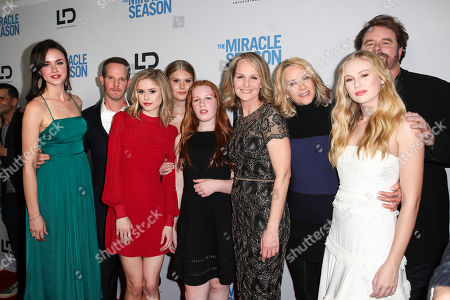 Stock Picture of Lillian Doucet-Roche, Jason Gray-Stanford, Erin Moriarty, Natalie Sharp, Makena Lei Carnahan, Helen Hunt, Rebecca Staab, Danika Yarosh and Sean McNamara