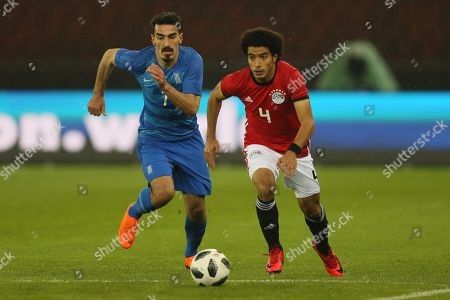 Omar Gaber of Egypt and Lazaros Christodoulopoulos of Greece
