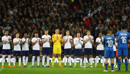 Editorial photo of England v Italy, International Football Friendly, Wembley Stadium, London, UK - 27 Mar 2018