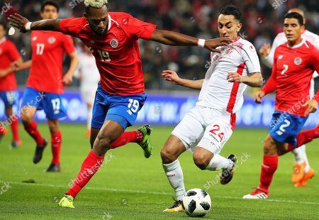 Kendall Waston and Saif Eddine Khaoui