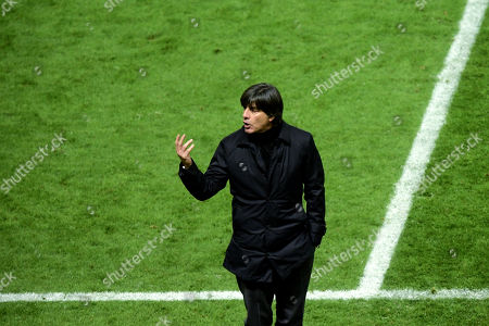 15d8df6c9ef7 Germany s head coach Joachim Loew reacts during an international friendly  soccer match between Germany and Brazil