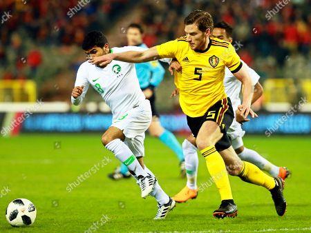 Dries Mertens and Omar Hawsawi