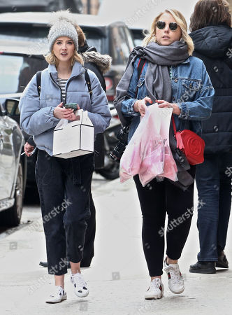 Editorial picture of Zoe Sugg out and about, New York, USA - 27 Mar 2018