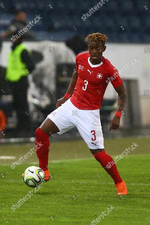Francois Moubandje of Switzerland