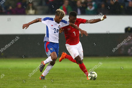 Avila Ricardo of Panama and Breel Emboli of Switzerland
