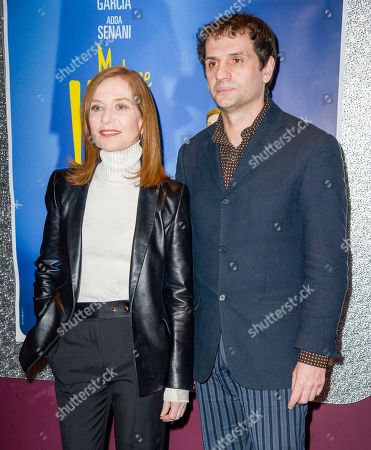 Isabelle Huppert and director Serge Bozon