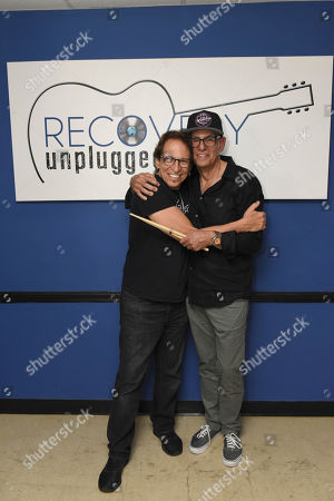 Richie Supa, Liberty Devitto. Richie Supa, left, and Liberty Devitto pose for a photo after their performance. Richie Supa was a guest singer of the band, The Lords of 52nd Street at Recovery Unplugged Treatment Center during Music Therapy for clients, in Fort Lauderdale, Fla