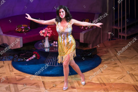 Kim Maresca (Judy Denmark) during the curtain call