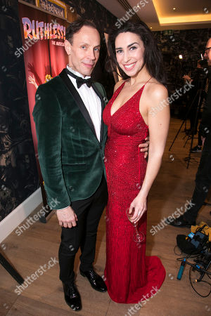 Jason Gardiner (Sylvia St Croix) and Kim Maresca (Judy Denmark)