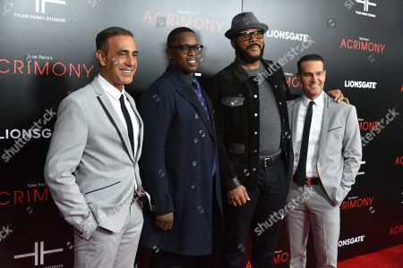 Stock Picture of Ozzie Areu, Mark E. Swinton, Tyler Perry and Will Areu