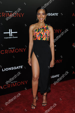 Editorial image of 'Acrimony' film premiere, New York, US - 27 Mar 2018