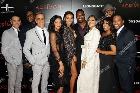 Stock Image of Will Areu(Producer), Mark Swinto(Producer), Ozzie Areu(Producer), Ajiona Alexus, Crystle Stewart, Lyriq Bent, Taraji P. Henson, Ptosha Storey, Tyler Perry (Director), Antonio Madison