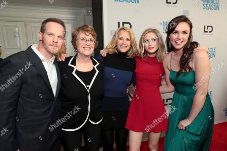 Jason Gray-Stanford, Kathy Bresnahan, Author, Rebecca Staab, Erin Moriarty, Lillian Doucet-Roche