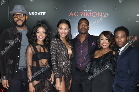 Editorial picture of 'Acrimony' film premiere, New York, USA - 27 Mar 2018