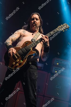 London United Kingdom - April 30: Guitarist Matt Pike Of American Heavy Metal Group Sleep Performing Live On Stage At The Roundhouse In London On April 30
