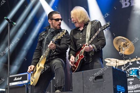 Stock Picture of Ricky Warwick Scott Gorham