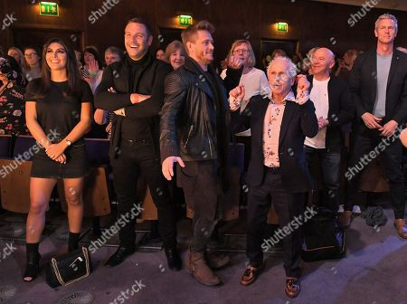 Editorial picture of 'The Real Full Monty: Live' TV show, Sheffield City Hall, UK - 28 Mar 2018