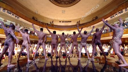 Editorial image of 'The Real Full Monty: Live' TV show, Sheffield City Hall, UK - 28 Mar 2018