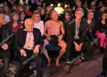 Dominic Littlewood in the audience