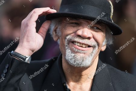 Stock Photo of The actor Paul Barber (aka Patrick Barber) leaves Liverpool Cathedral after the service