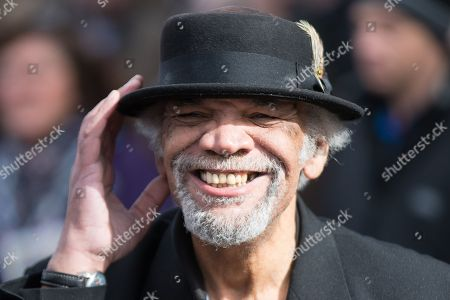 Stock Picture of The actor Paul Barber leaves Liverpool Cathedral after the service