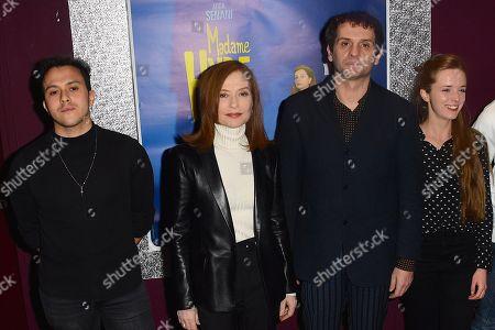 Guest, Isabelle Huppert, Serge Bozon, Roxane Arnal