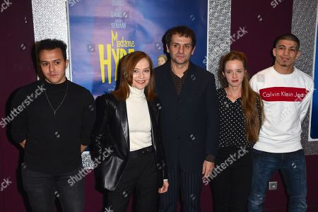 Guest, Isabelle Huppert, Serge Bozon, Roxane Arnal and Adda Senani