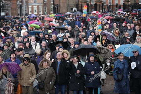 Editorial image of Ken Dodd Funeral, Liverpool, UK - 28 Mar 2018