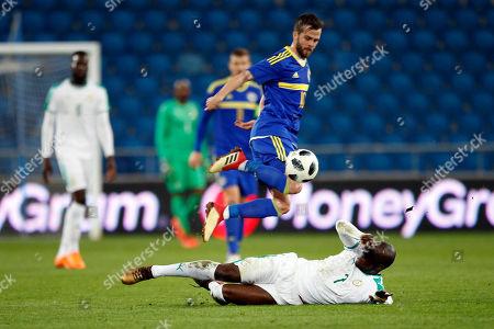 Editorial image of Senegal Bosnia and Herzegovina Soccer, Le Havre, France - 27 Mar 2018