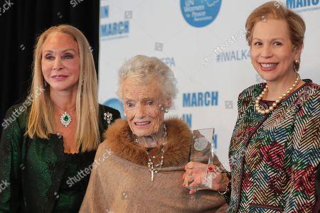 Editorial image of UN Women for Peace Association Awards Luncheon, UN Headquarters, New York, USA - 08 Mar 2018