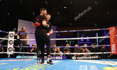 Stock Picture of Josh Kelly and Ryan Burnett train together with their trainer Adam Kelly