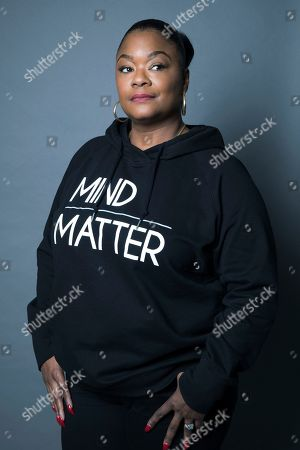 """Roxanne Shante poses for a portrait in New York to promote """"Roxanne Roxanne"""