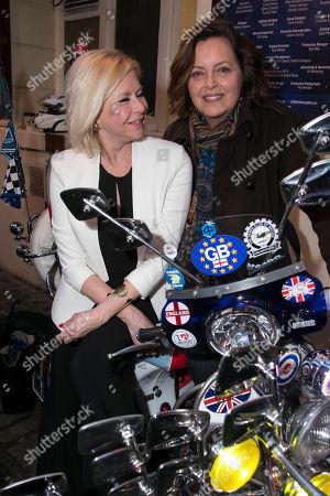 Stock Photo of Felicity Dean and Greta Scacchi