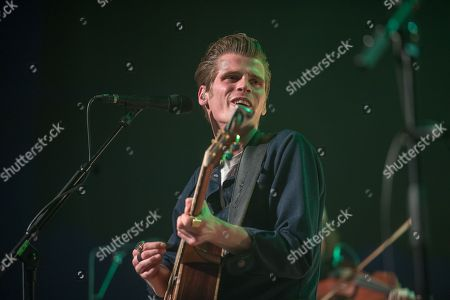 Alfie from Irish Folk group Hudson Taylor