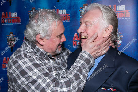 Russell Floyd (Don Arden) and Alan Ford