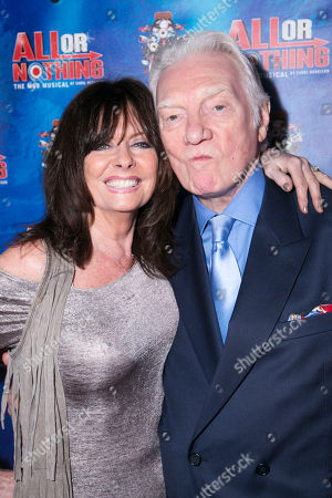 Stock Photo of Vicki Michelle and Alan Ford