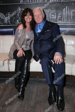 Stock Image of Vicki Michelle and Alan Ford