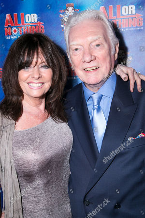 Vicki Michelle and Alan Ford